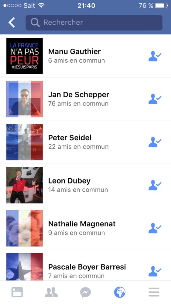 Les réseaux sociaux et l'horreur à Paris (5/6)