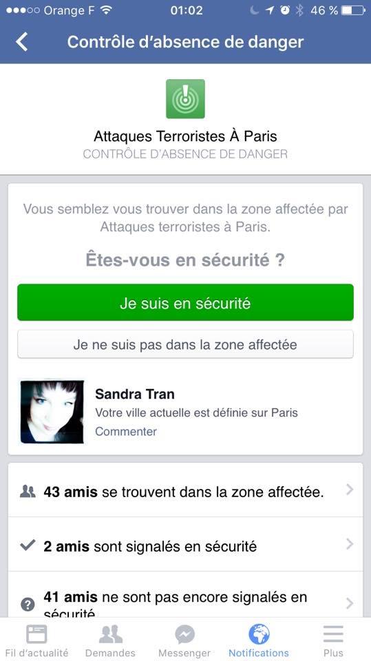 Les réseaux sociaux et l'horreur à Paris (3/6)