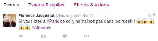 Tweet Florence
